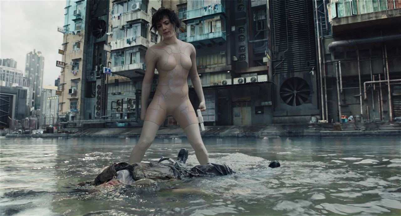Ghost In The Shell : Bild Scarlett Johansson