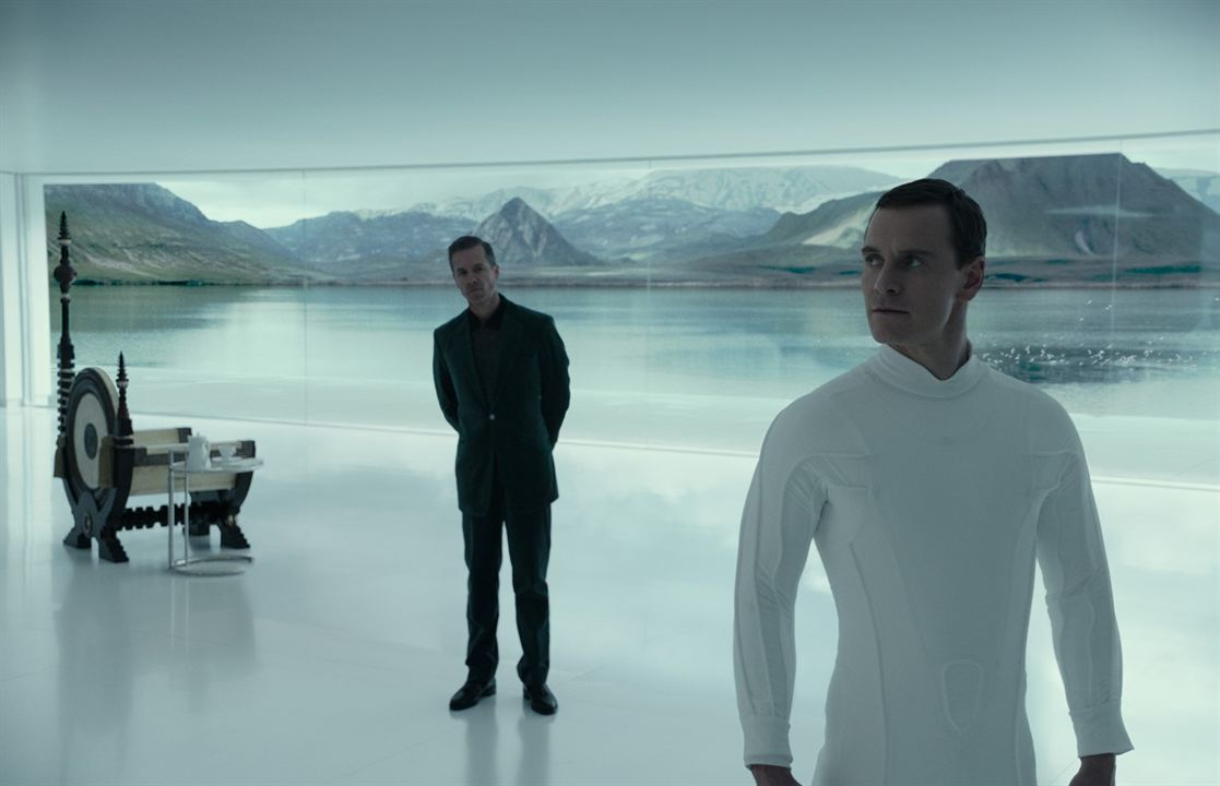 Alien: Covenant : Bild Guy Pearce, Michael Fassbender