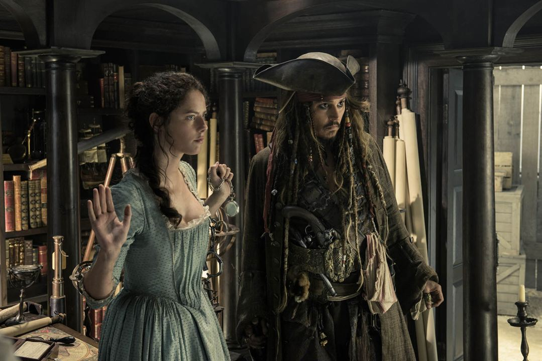 Pirates Of The Caribbean 5: Salazars Rache : Bild Johnny Depp, Kaya Scodelario