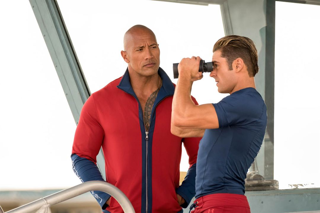 Baywatch : Bild Dwayne Johnson, Zac Efron