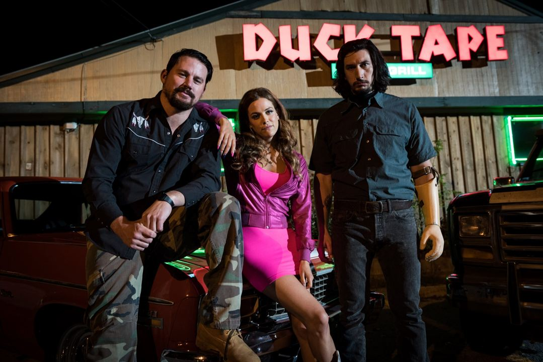 Logan Lucky : Bild Adam Driver, Channing Tatum, Riley Keough