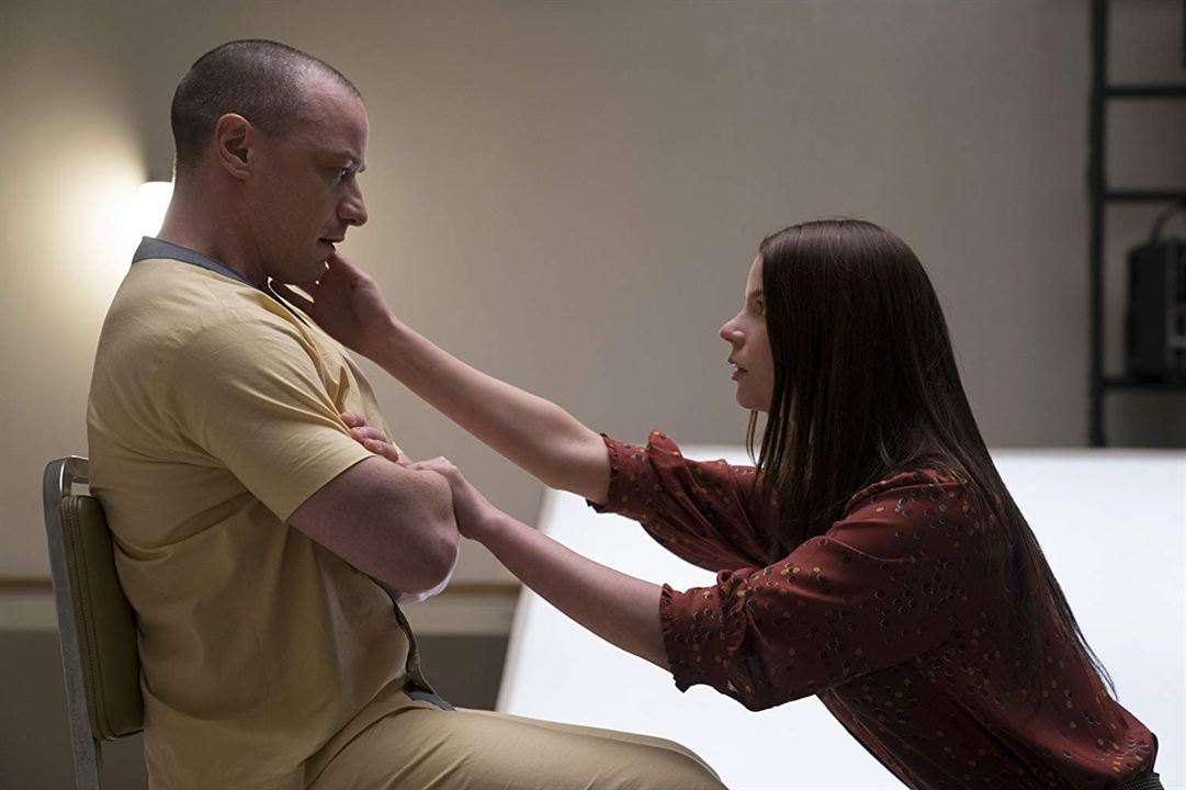 Glass : Bild Anya Taylor-Joy, James McAvoy