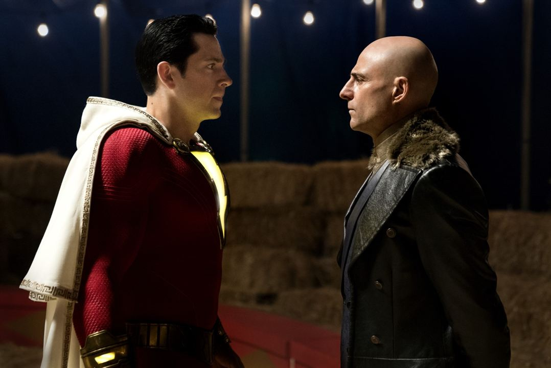 Shazam! : Bild Mark Strong, Zachary Levi