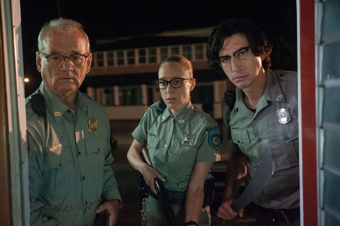 The Dead Don't Die : Bild Adam Driver, Bill Murray, Chloë Sevigny