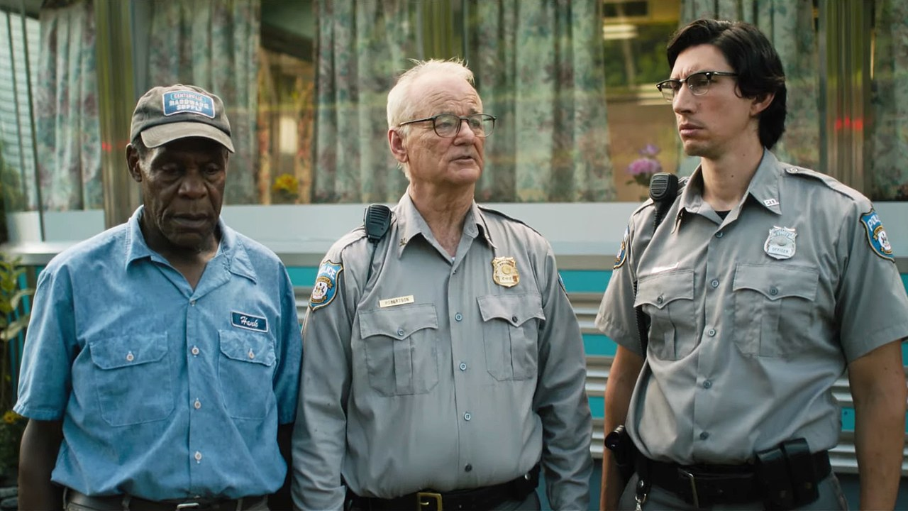 The Dead Don't Die : Bild Adam Driver, Bill Murray, Danny Glover